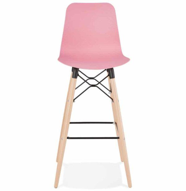 Tabouret-de-bar-design-´MOZAIK´-rose-style-scandinave-1