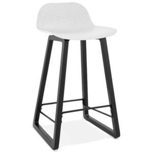 Tabouret snack mi-hauteur ´SASHIMI MINI´ blanc design