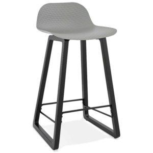 Tabouret snack mi-hauteur ´SASHIMI MINI´ gris design