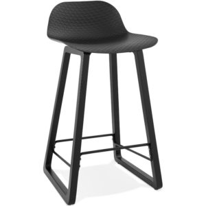Tabouret snack mi hauteur ´SASHIMI MINI´ noir design 300x300 - Mobilier Design et Scandinave