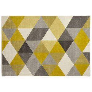 Tapis design ´GRAFIK´ 160230 cm avec motifs graphiques jaunes 300x300 - Tapis design ´GRAFIK´ 160/230 cm avec motifs graphiques jaunes