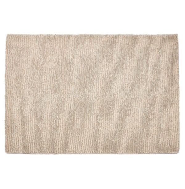 Tapis design ´TAPY´ 160x230 cm beige en laine