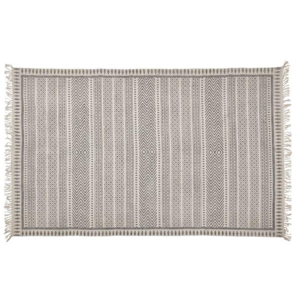 Tapis design style berbère ´NAVY´ 160x230 cm gris