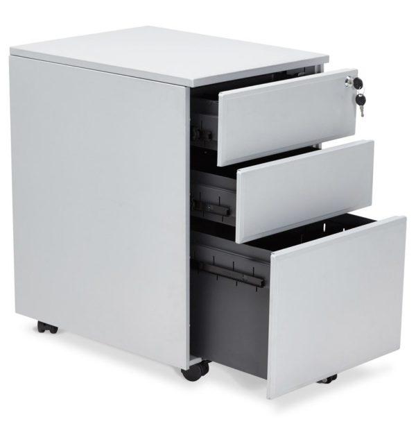 Caisson-de-rangement-´DALI´-gris-à-tiroirs-pour-bureau-2