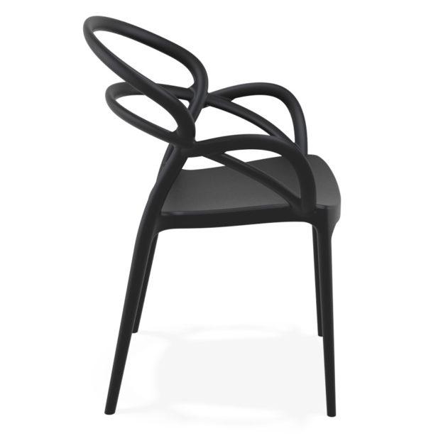 Chaise-de-terrasse-´JULIETTE´-design-noire-2