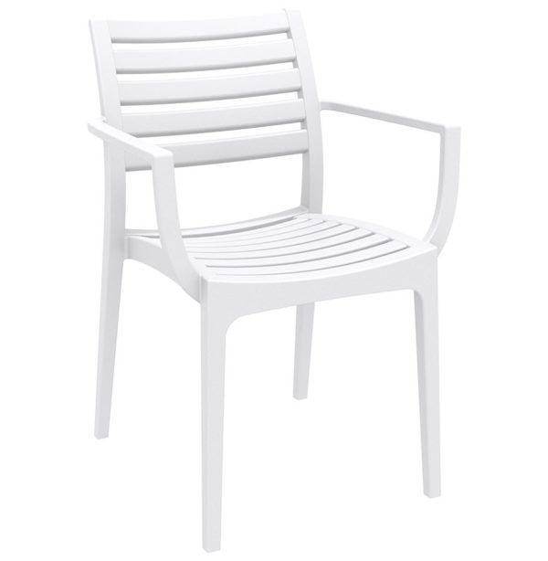 Chaise de terrasse ´ULTIMO´ design blanche