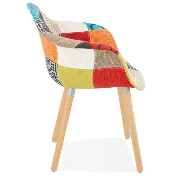 Chaise-design-avec-accoudoirs-´RAMBLA´-style-patchwork-2