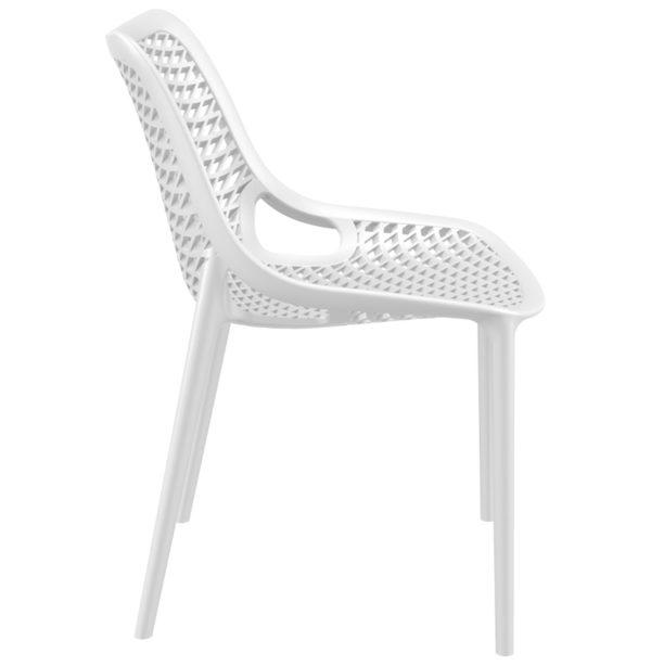 Chaise-moderne-´BLOW´-blanche-en-matière-plastique-2