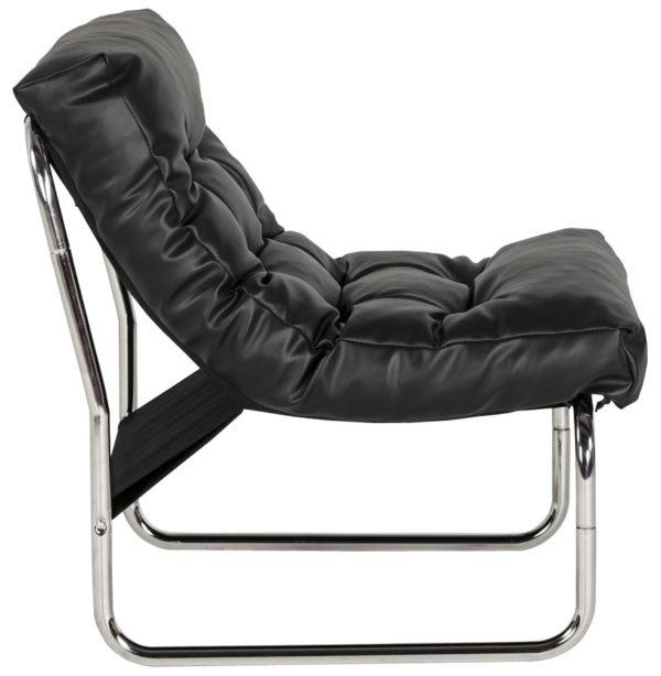 Fauteuil-lounge-´LOFT´-noir-2