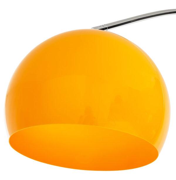 Lampadaire-design-en-arc-´BIG-BOW-XL´-abat-jour-orange-2