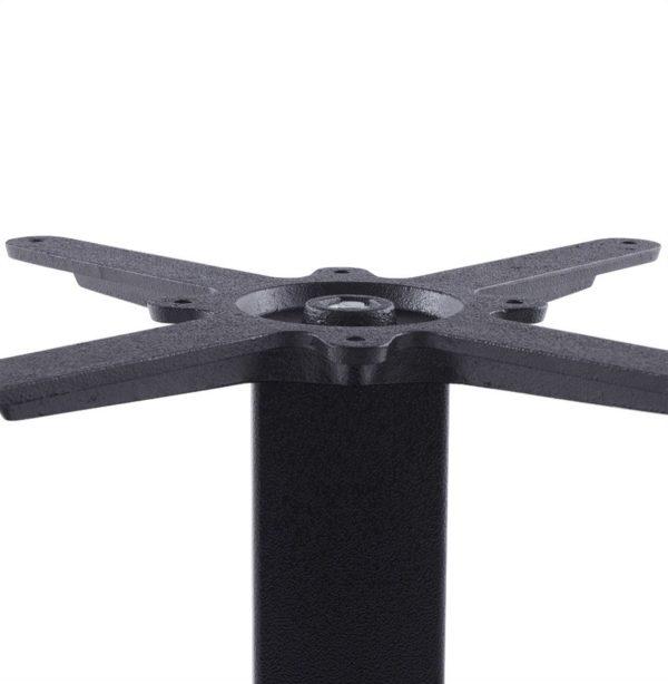 Pied-de-table-´NERO´-45-noir-en-métal-2