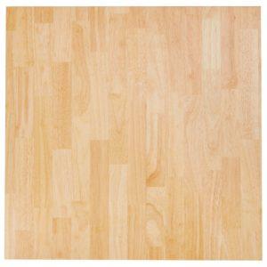 Plateau de table ´MASSIVO´ carré en bois massif - 70x70 cm