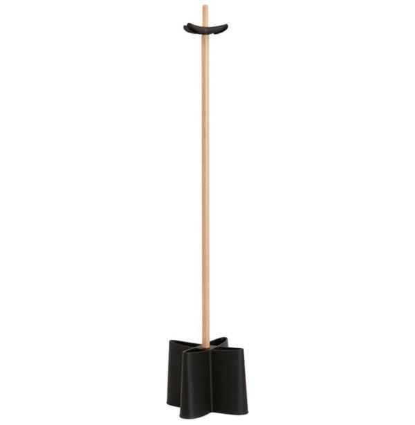 Portemanteau sur pied ´CAPORAL´ noir style scandinave