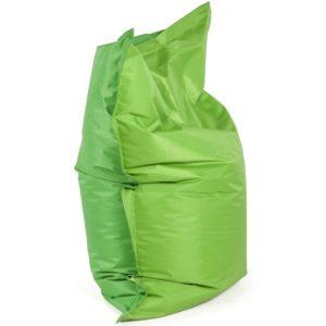 Pouf ´LAZY MINI´ vert/vert 130x100cm