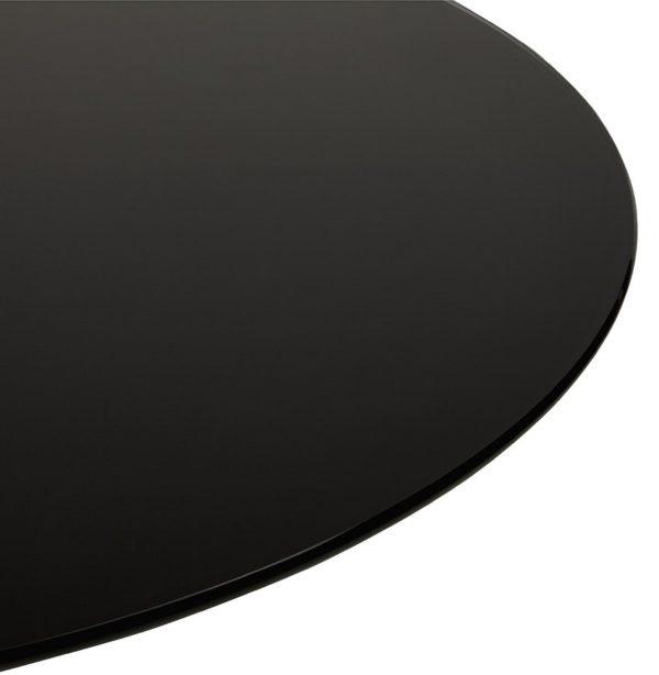 Table-à-dîner-design-ronde-´ALEXIA´-noire-Ø-120-cm-2
