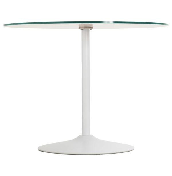 Table-à-dîner-ronde-´TROBO´-blanche-en-verre-Ø-100-cm-2