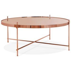Table basse de salon ´KOLOS BIG´ couleur cuivre