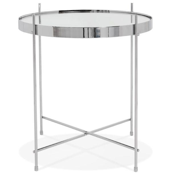 Table-d´appoint-pliable-´KOLOS´-couleur-chrome-1