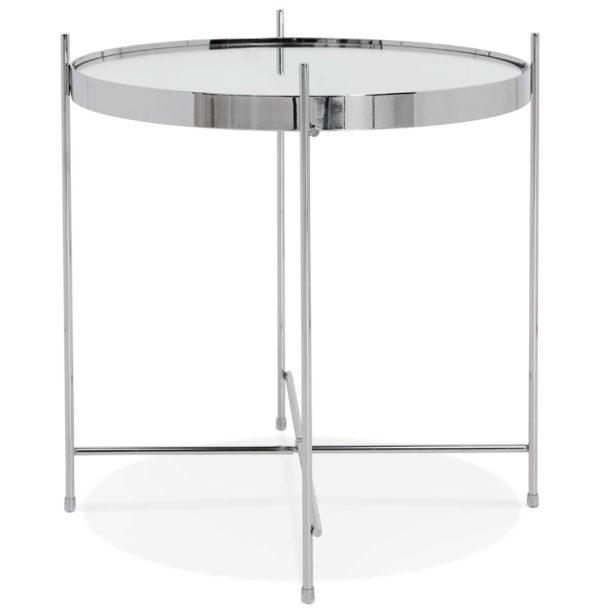 Table-d´appoint-pliable-´KOLOS´-couleur-chrome-2