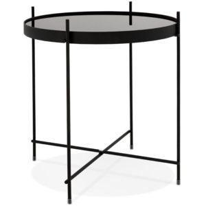 Table d´appoint pliable ´KOLOS´ noire
