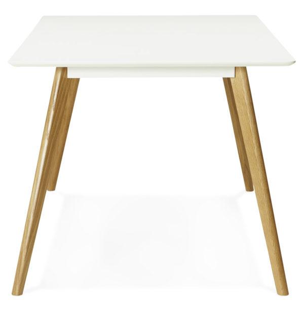 Table-de-cuisine-rectangulaire-bureau-droit-´CANDY´-blanc-160×90-cm-2