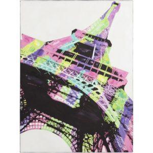 Tableau design ´EIFFEL´ tour toile imprimée 90x120 cm