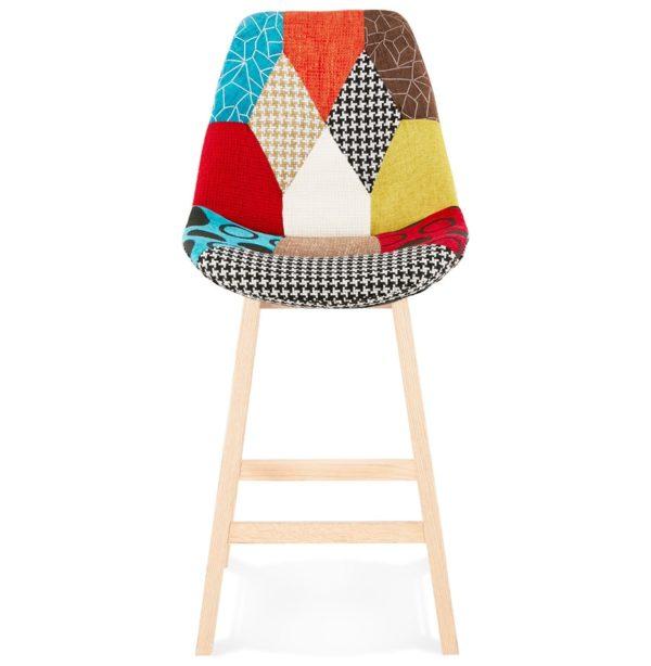 Tabouret-snack-mi-hauteur-´CUPIDON-MINI´-style-patchwork-1