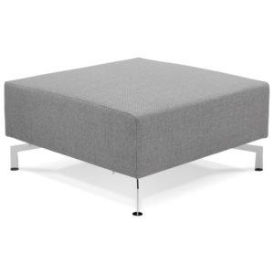 Élément de canapé modulable ´VOLTAIRE ONE´ gris - pouf de canapé