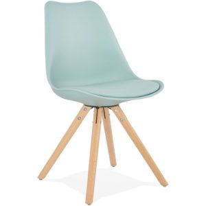 Chaise scandinave ´GOUJA´ bleue