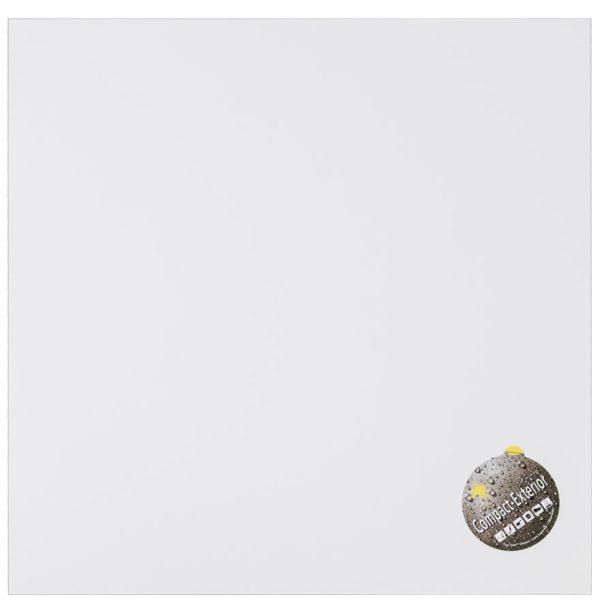 Plateau de table ´PLANO´ carré 60x60cm blanc en résine compressée