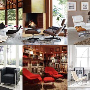 Reproductions de fauteuils de designers - coup de cœur !