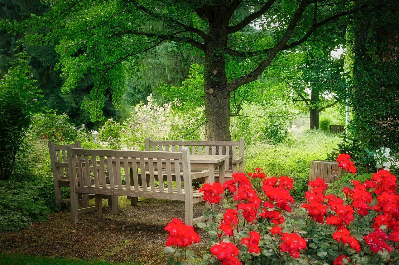 salon de jardin en bois exterieur