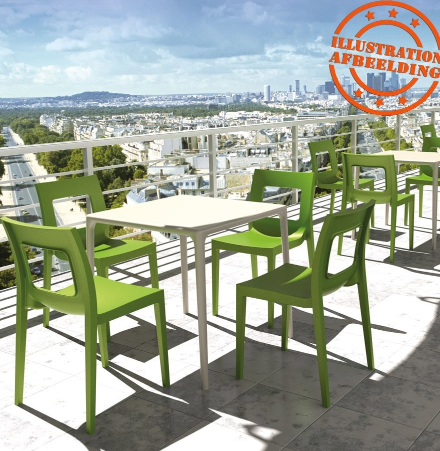 table et chaises restaurant design