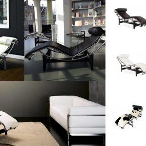 Reproduction Le Corbusier LC4 – chaises longues design