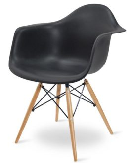 Reproduction chaise design eames noire 4