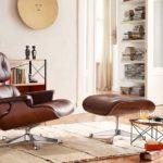 Reproduction fauteuil Eames Lounge, réédition Vitra – Coup de cœur