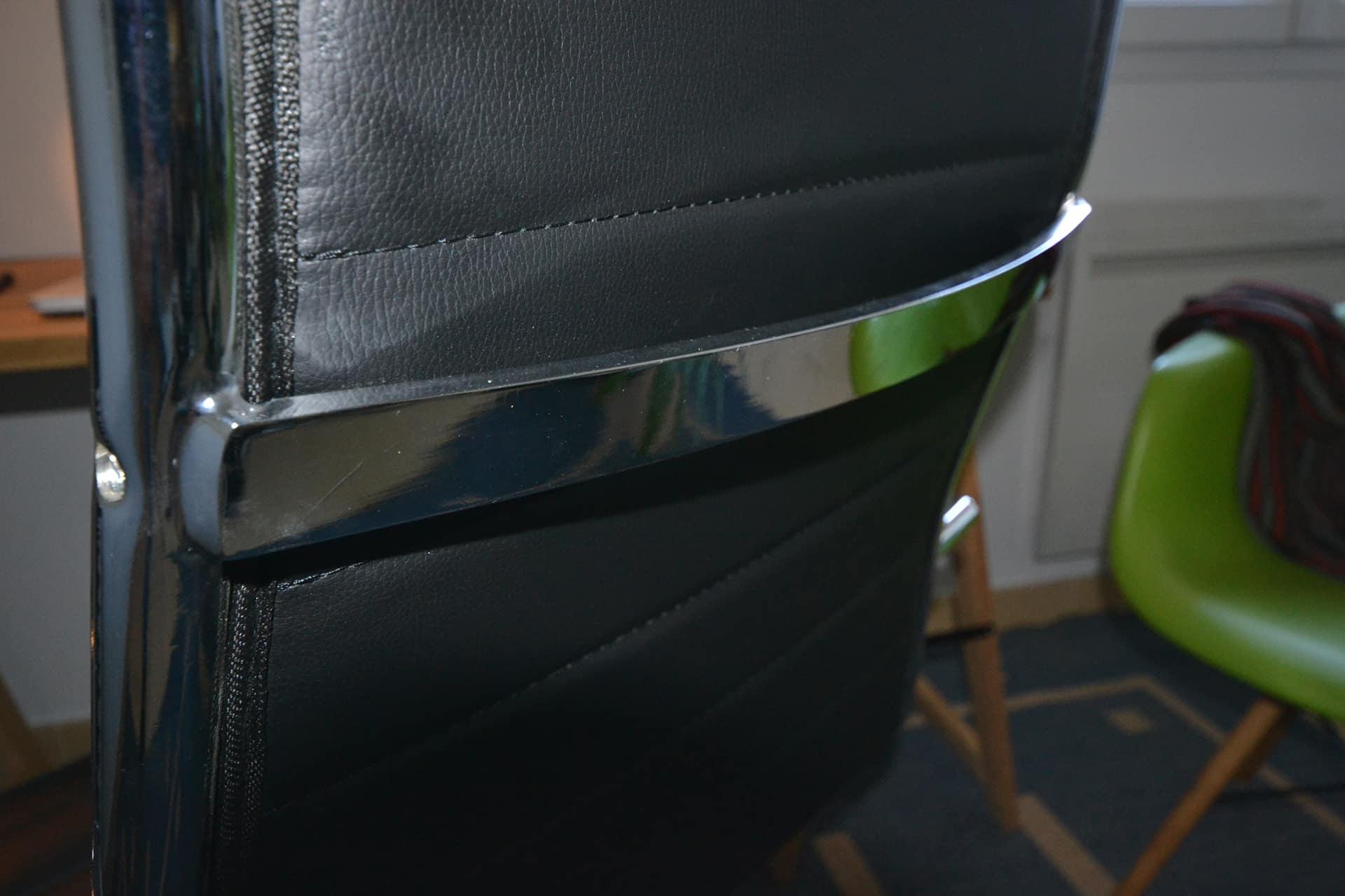 detail arriere fauteuil design test