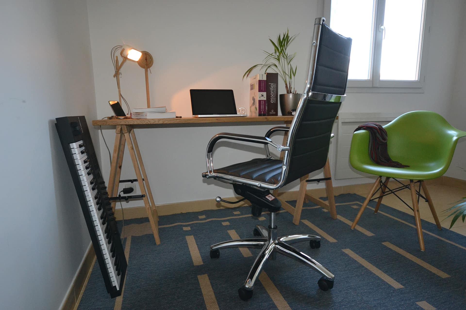 fauteuil bureau vue ensemble pour test