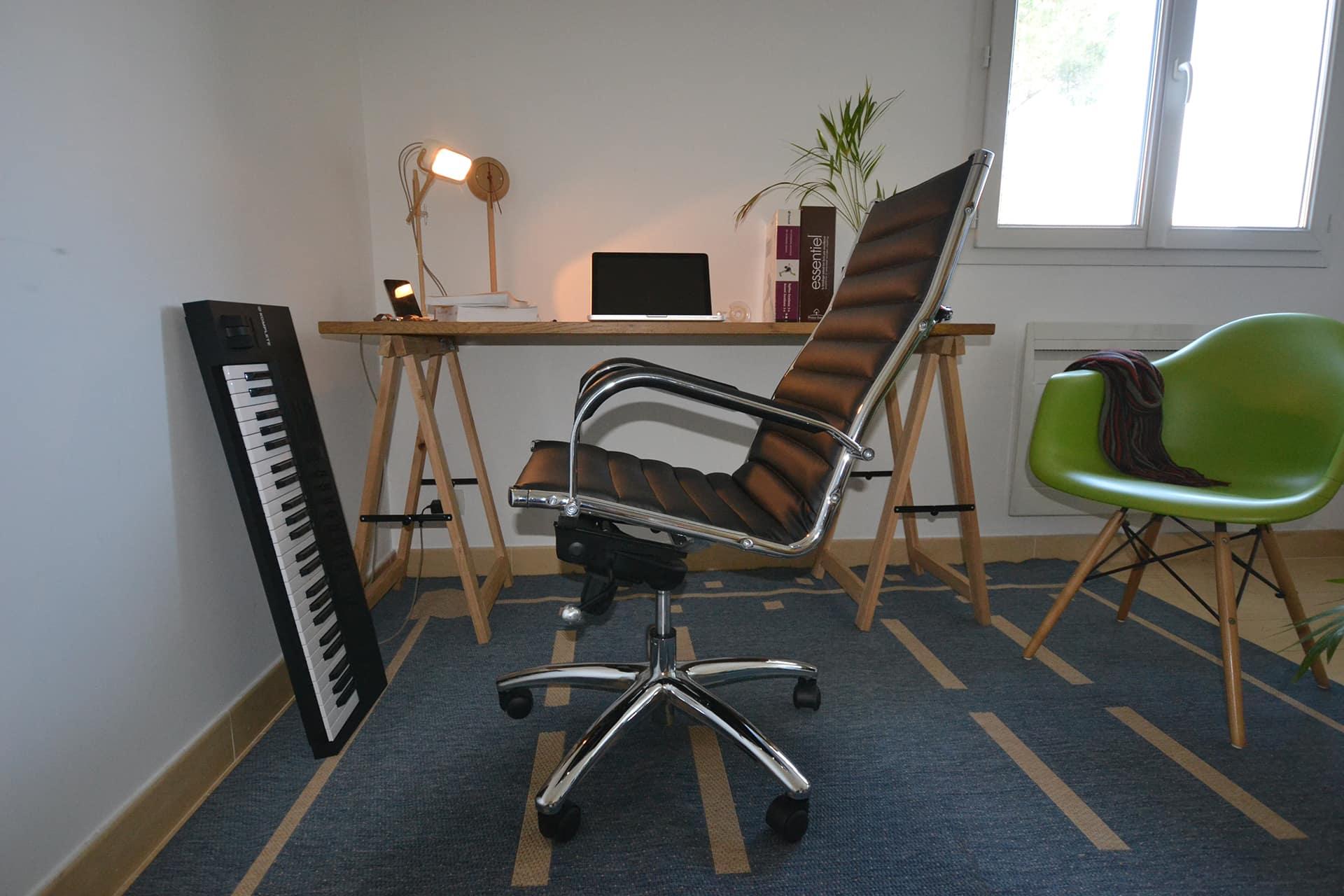 fauteuil de bureau design bacule arriere test