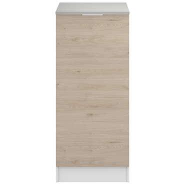1/2 armoire rangement 60cm SPOON NATURA