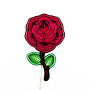 Applique avec prise Néon Rose / LED - H 55 cm / Acrylique - Seletti rose,rouge,marron,vert en matière plastique