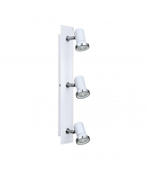 Applique TAMARA 1 3 ampoules blanc