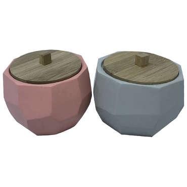 Boite décorative en polyrésine PIRATE coloris assortis
