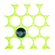 Casier à bouteilles Infinity - Kartell vert en matière plastique