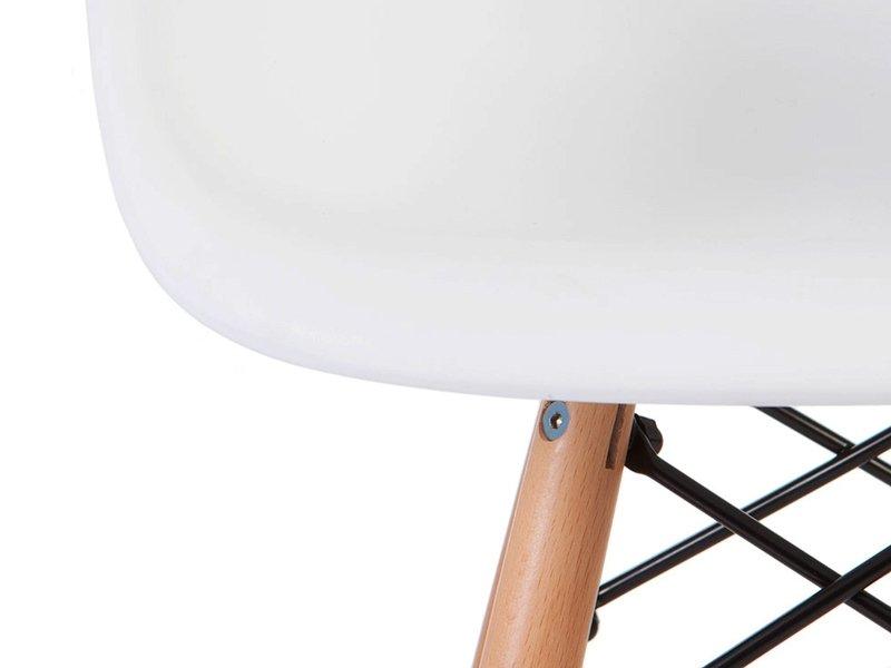 Chaise enfant Eames DAW - Blanc