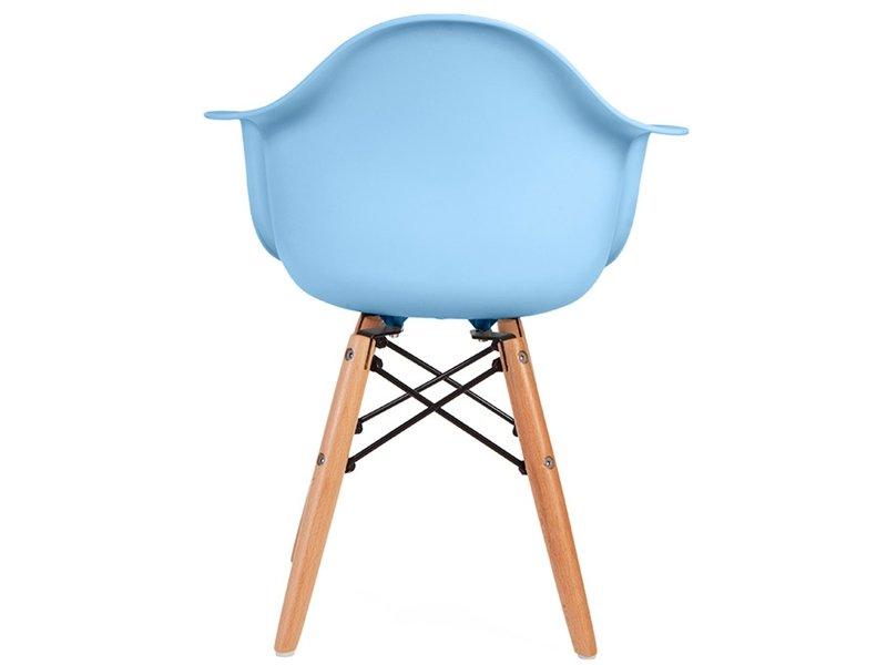Chaise enfant Eames DAW - Bleu