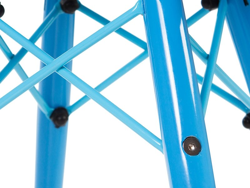 Chaise enfant Eames DAW Color - Bleu
