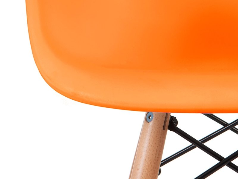 Chaise enfant Eames DAW - Orange