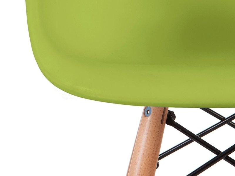 Chaise enfant Eames DAW - Vert