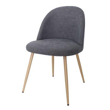 Chaise LILOU coloris gris